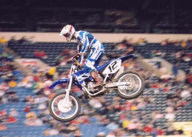 David Vuillemin 5th 2005 RCA Dome THQ AMA Supercross