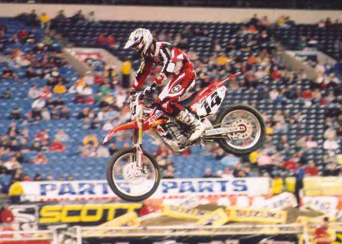 Kevin Windham 3rd 2005 RCA Dome THQ AMA Supercross