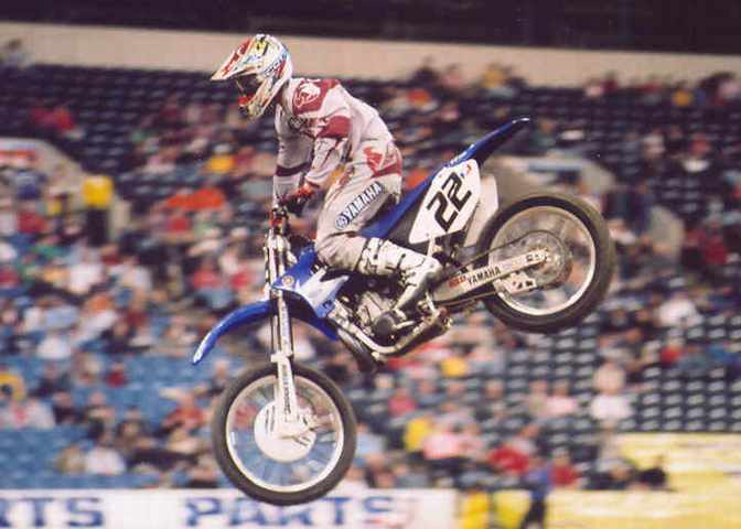 Chad Reed 2nd 2005 RCA Dome THQ AMA Supercross