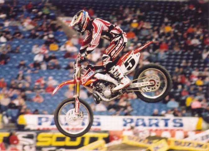 Mike Larocco 4th 2005 RCA Dome THQ AMA Supercross