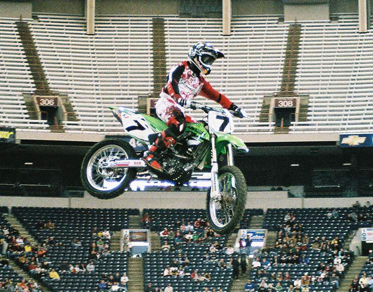 James Stewart 2006 RCA Dome THQ AMA Supercross